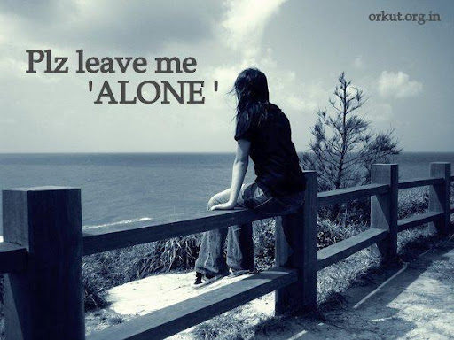 Alone sad girls wallpapers facebook images mobile pictures - Leave me alone wallpaper ...